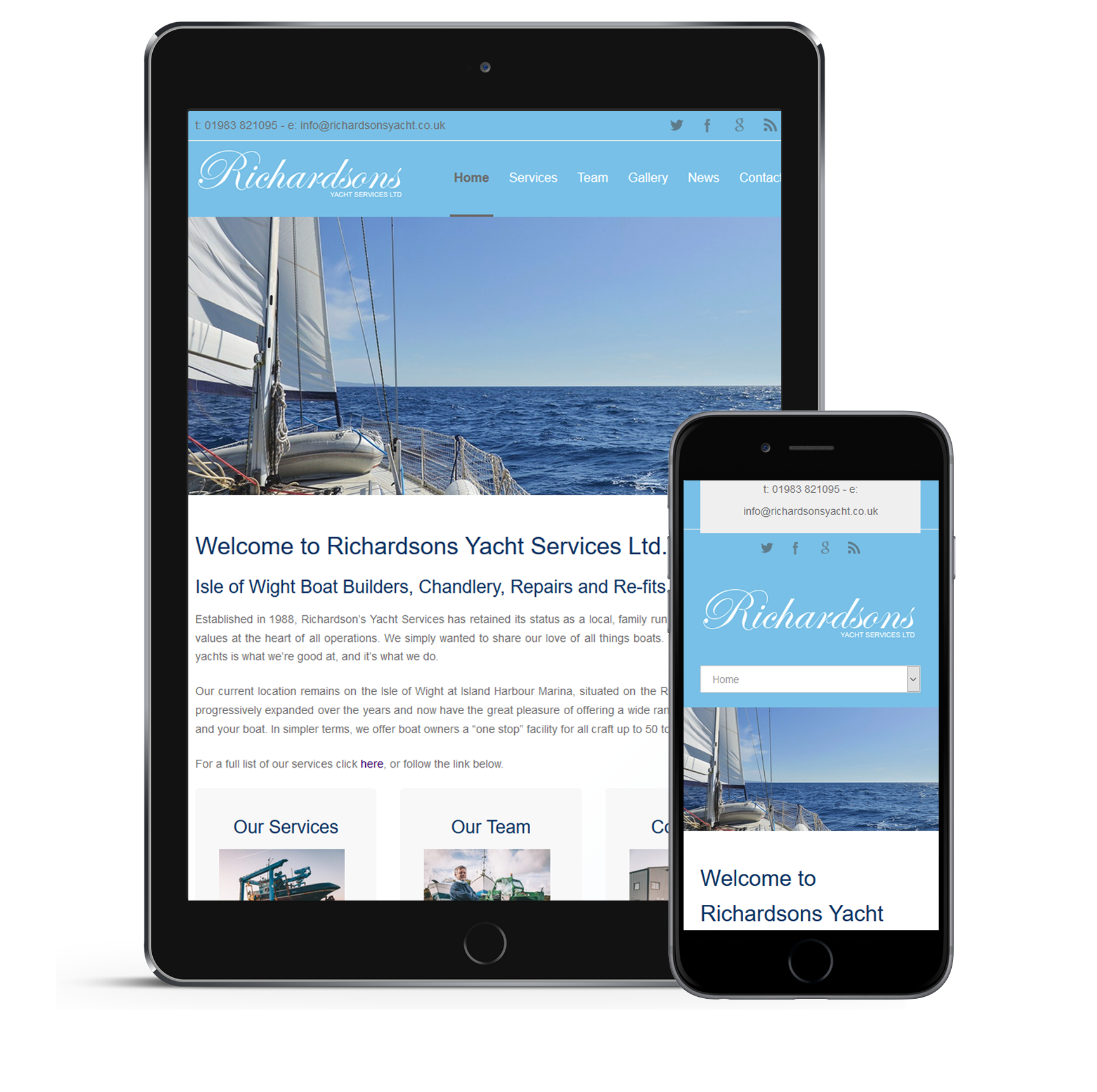 Mobile Friendly Websites Isle of Wight