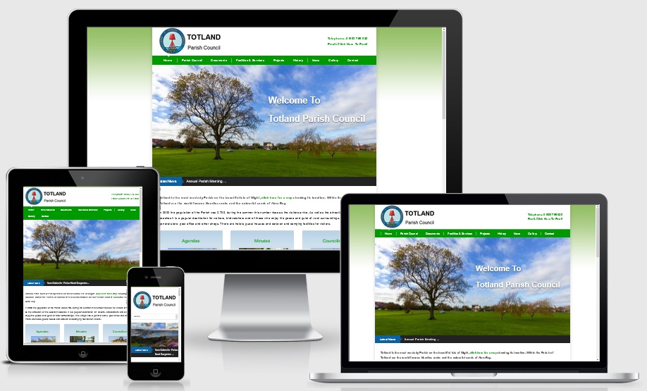 Parish Council Website Designers