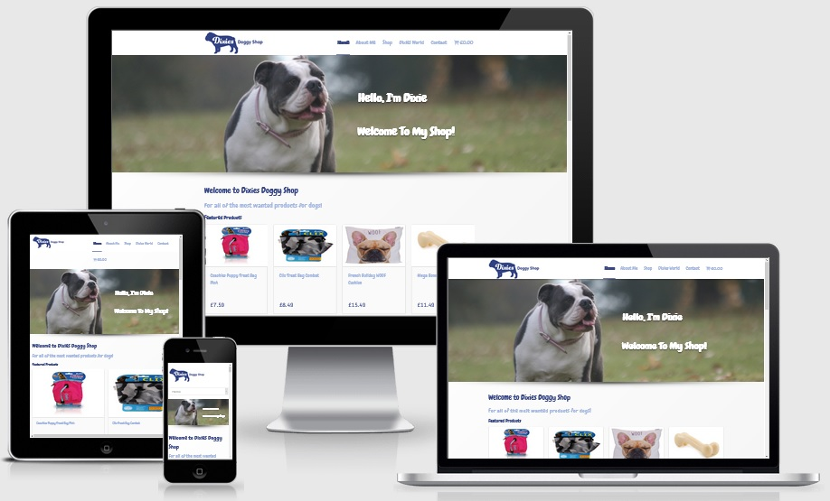 e-commerce website designers Isle of Wight
