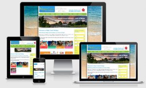 Holiday Property Website Design