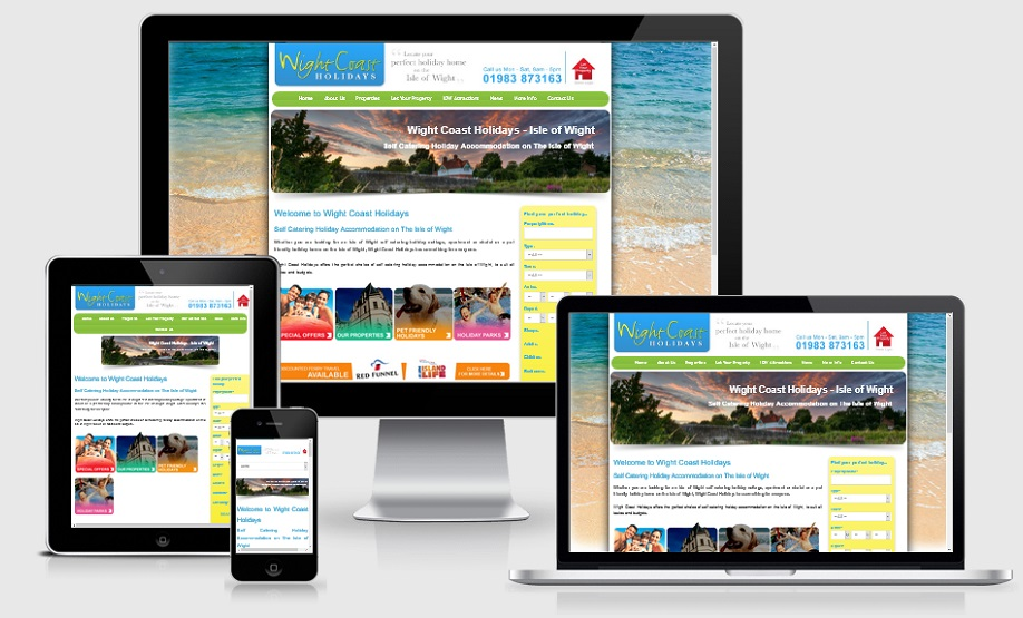 Websites for Holiday Cottages