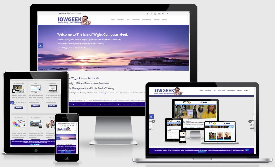 IOW Geek Website Portfolio