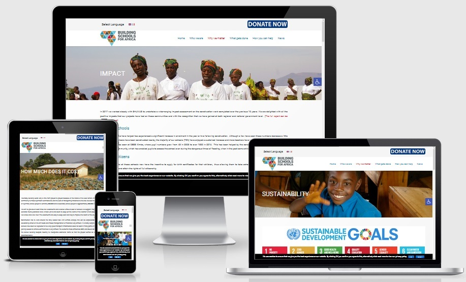 Charity Website Design Service